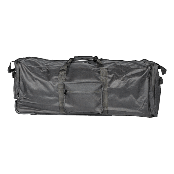 Riot Suit Deployable Bag – Empty, 36″ – XLg, Blk, Hard Bottom & Wheeled