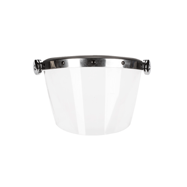 Replacement Face Shield - front view - gloss