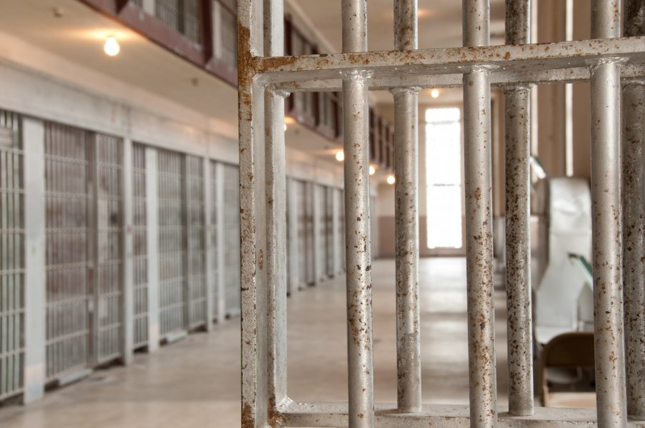 Prision Cells at Old Idaho Penitentiary in Boise, Idaho